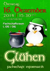 """Plakat """"Glühen"""" 2014"""