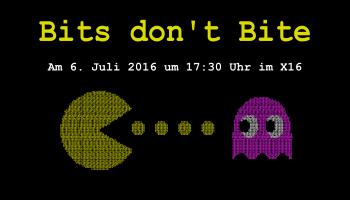Die Vortragsreihe Bits don't Bite