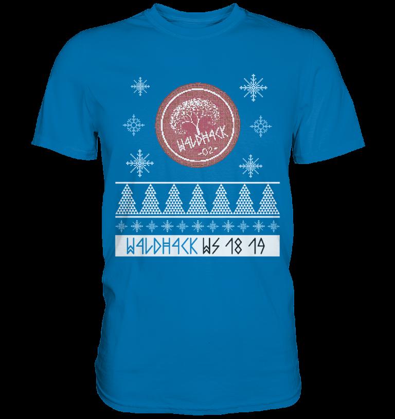 DAS offizielle T-Shirt zum zweiten w4ldh4ck!